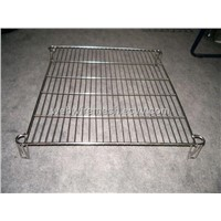 woven bbq grill mesh(factory)