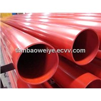 Color Hot Rolled Welded Steel Pipe