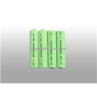 rechargeable battery NI-MH AAA 500mAh 1.2V
