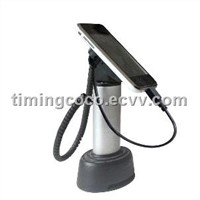 security display stand for Cellphone, with alarm and charging