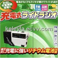 solar radio/wind up radio flashlight