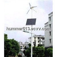 solar wind hybrid street light lamp