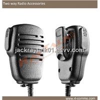 two way radio light weight mini speaker microphone
