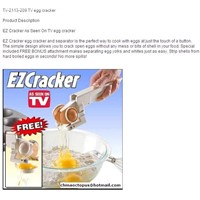 TV-2113-209 TV egg cracker