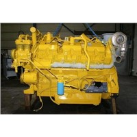 Caterpillar 3412E Remanufactured engine.