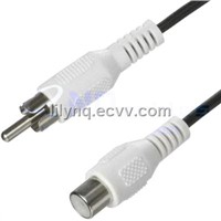RCA Male to RCA Female AV Cable