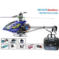 WASP Belt 250 CNC RTF 2.4GHz (include Alumi Case) rc helicopter
