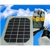 Solar Panel 3W with 2.5W LED Light Phone Charge with Portable Indoor/Outdoor LED Light System