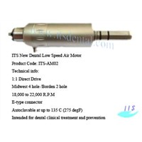 ITS Dental Low Speed Air Motor 2/4 hole