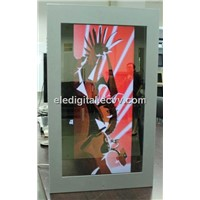 32 Inch Digital Mirror LCD Advertising Display ,Magic Mirror Motion Sensor LCD For Bathroom