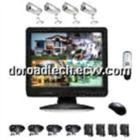 4CH COMBO DIY DVR Surveillance Kit (DR-CDKB3504-IC1)