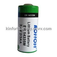 AONON 3.6V Lithium thionyl chloride batteries,ER14335 ER14335M 2/3AA size