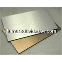 Anodized Brush Finished Aluminum Composite Board/Sheet/Panel