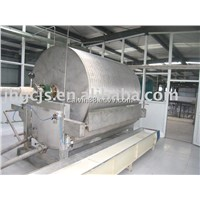 Automatic starch dehydrator machine & vacuum filter