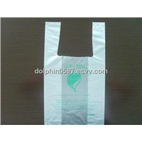 Biodegradable Corn Starch T-shirt Bag