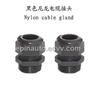 Black Nylon Cable Gland