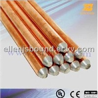 Copper-clad steel grounding rod (JB-CA)