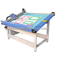 DCP-1209X computerized mat cardboard picture frame V-groove cutting machine