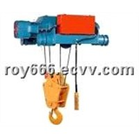 Electric Wire Rope Traveling Hoist
