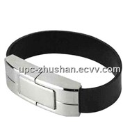 Fashionable 16GB 32GB Bracelet Leather U-Disk