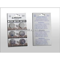 Li Ion Button Cells Battery CR2016