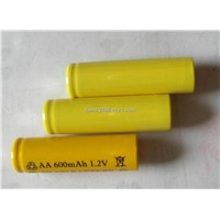 NICD Battery AA 600mAh 1.2V