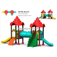 Nice Simple Children Outdoor Playground/Amusement Park(TQ-ZLJ131) Jurassic Series