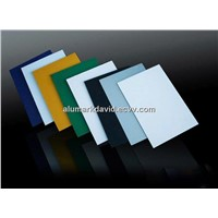 PE/PVDF coated aluminum sandwich board/sheet/panel
