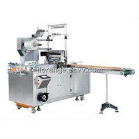 SMB-400C cosmetic Cellophane film overwrapping machine