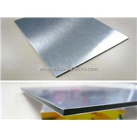 Silver Brush Aluminum Composite Panel /Board/Panel (AM-152)