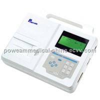 EM01 Single Channel ECG Machine