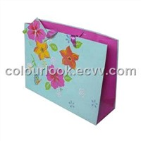 Special Design Paper Bag for Gifts/ gift bags with ribbon handles