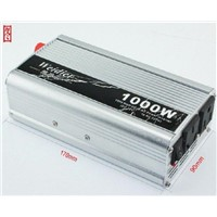 1000W Power Inverter DC 12V to AC 220V with USB for Auto Adapter,Solar Systems