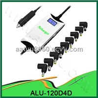 120W DC Universal Laptop Car Adapter