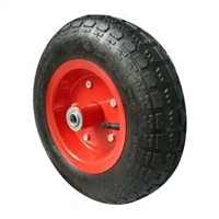 12-inch x 3.50-6 Pneumatic Rubber Wheel with 150kg Loading Capacity