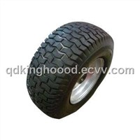 16-inch x 6.50-8 Pneumatic Rubber Wheel with 200kg Load