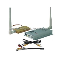 1.2G 1500mW 8CH Wireless Video Transmitter Receiver,AV Transmitter Receiver