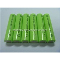1.2V AAA800mAh rechargeable NIMH battery