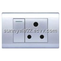 1gang switch and 15A SOCKET