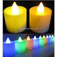 2012 popular led flameless candle