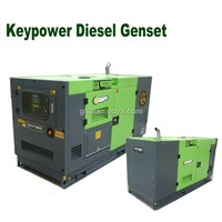 250KVA water cooled diesel engine generator set