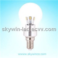2.5W LED candle bulb light