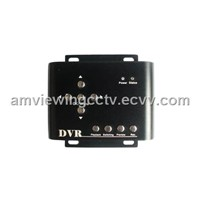 2 Channel HD Vehicle DVR - SD Card Car DVR