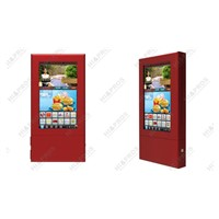 "32"" wall mounted (touch screen optional) digital guide,digital display,digital poster,ad poster"
