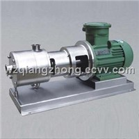 3-stage High Shearing Rate Emulsifying Pump/ Mixer/Homogenizer