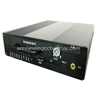 H.264 HDD/SD Card 4ch mobile DVR,4 Channel Car Driver DVR,4ch car mobile DVR