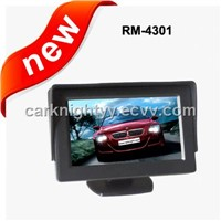 4.3 inch stand-alone monitor,car rear-view monitor