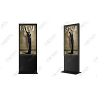"55"" high definition LCD digital advertising machine"