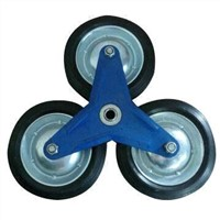 6-/7-inch Solid Rubber Wheel with Ball Bearing, Suitable for Hand Trolley, Hand and Sack Truck