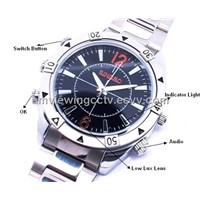 720P Waterproof Spy Watch Video Camera, 4G/8G/16G Available